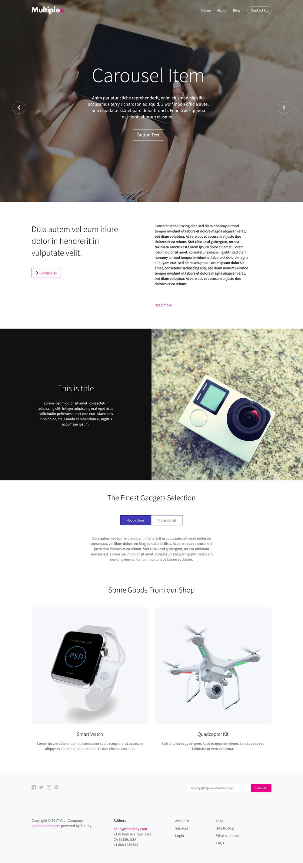 15 Fresh Sitebuilder Templates | Best Template