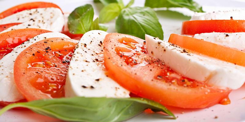 Cheese & Tomato Salade